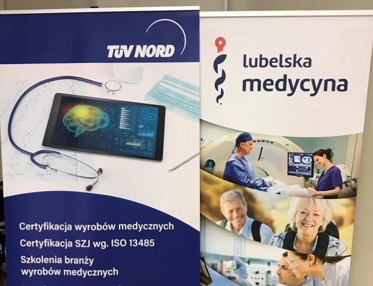 Roll-upy Tuv Nord i Klastra Lubelska Medycyna