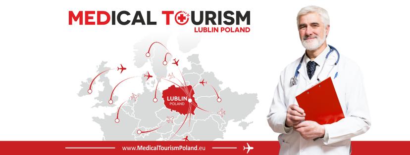Grafika przedstawiająca logo projektu Lubelskie Konsorcjum Turystyki Medycznej