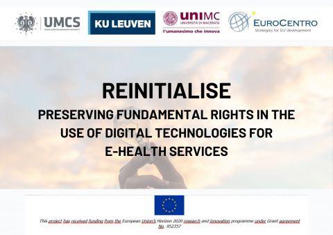 """Logo partnerów projektu """"Reintialise"""""""