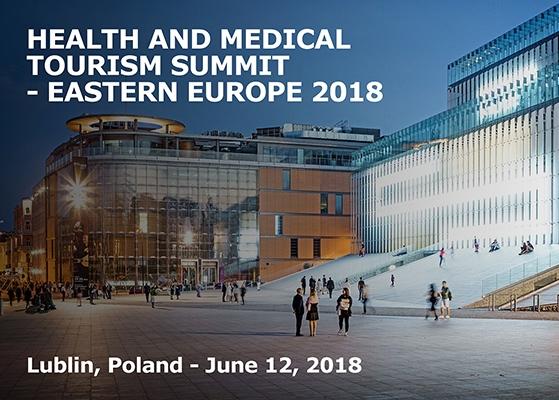 Grafika przedstawiająca Centrum Spotkania Kultur, gdzie odbył się Health and Medical Tourism Summit 2018