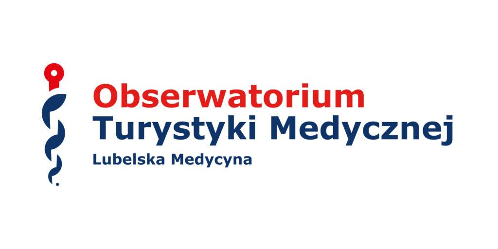 Logo projektu Obserwatorium Turystyki Medycznej Klastra Lubelska Medycyna